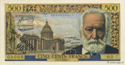 500 Francs VICTOR HUGO FRANCE  1954 F.35.00s1 SUP