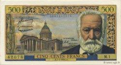 500 Francs VICTOR HUGO FRANCE  1954 F.35.01 pr.SPL