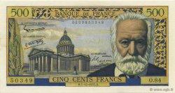 500 Francs VICTOR HUGO FRANCE  1957 F.35.07 SPL