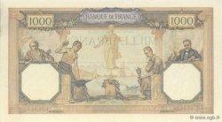 1000 Francs CÉRÈS ET MERCURE FRANCE  1927 F.37.01 pr.SPL