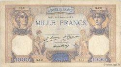 1000 Francs CÉRÈS ET MERCURE FRANCE  1929 F.37.03 pr.TB