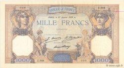 1000 Francs CÉRÈS ET MERCURE FRANCE  1930 F.37.04 SUP