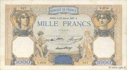 1000 Francs CÉRÈS ET MERCURE FRANCE  1937 F.37.10 pr.TB