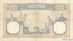 1000 Francs CÉRÈS ET MERCURE type modifié FRANCE  1938 F.38.10 TTB