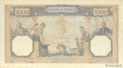 1000 Francs CÉRÈS ET MERCURE type modifié FRANCE  1939 F.38.36 SUP
