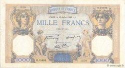 1000 Francs CÉRÈS ET MERCURE type modifié FRANCE  1940 F.38.50 TTB