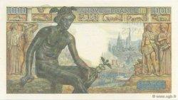 1000 Francs DÉESSE DÉMÉTER FRANCE  1942 F.40.02 NEUF