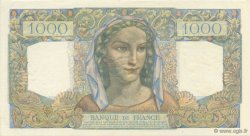 1000 Francs MINERVE ET HERCULE FRANCE  1945 F.41.01 SUP+