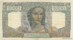1000 Francs MINERVE ET HERCULE FRANCE  1945 F.41.07