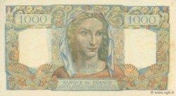 1000 Francs MINERVE ET HERCULE FRANCE  1950 F.41.32 SPL