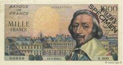 1000 Francs RICHELIEU FRANCE  1953 F.42.00s1 SUP