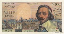 1000 Francs RICHELIEU FRANCE  1956 F.42.22 SPL+