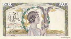 5000 Francs VICTOIRE Impression à plat FRANCE  1941 F.46.24 SUP