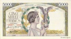5000 Francs VICTOIRE Impression à plat FRANCE  1941 F.46.27 SPL