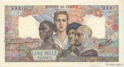 5000 Francs EMPIRE FRANÇAIS FRANCE  1945 F.47.43 SUP+