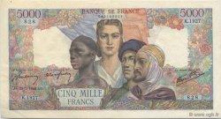 5000 Francs EMPIRE FRANÇAIS FRANCE  1946 F.47.51 SUP à SPL
