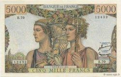 5000 Francs TERRE ET MER FRANCE  1951 F.48.05 SPL+
