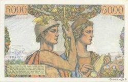 5000 Francs TERRE ET MER FRANCE  1957 F.48.17 pr.NEUF