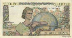 10000 Francs GÉNIE FRANÇAIS FRANCE  1949 F.50.21 pr.TTB