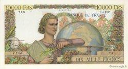 10000 Francs GÉNIE FRANÇAIS FRANCE  1954 F.50.71 SUP à SPL