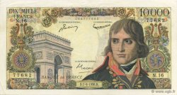 10000 Francs BONAPARTE FRANCE  1956 F.51.03