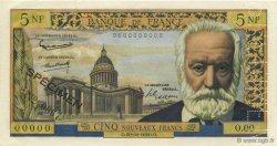 5 Nouveaux Francs VICTOR HUGO FRANCE  1949 F.56.00 pr.NEUF