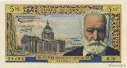 5 Nouveaux Francs VICTOR HUGO FRANCE  1959 F.56.02 SPL