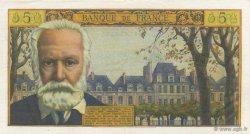 5 Nouveaux Francs VICTOR HUGO FRANCE  1965 F.56.19 SPL
