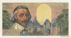 10 Nouveaux Francs RICHELIEU FRANCE  1959 F.57.02 SPL