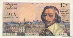 10 Nouveaux Francs RICHELIEU FRANCE  1959 F.57.04 SUP+