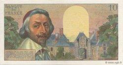 10 Nouveaux Francs RICHELIEU FRANCE  1961 F.57.15 SPL