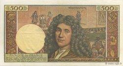 500 Nouveaux Francs MOLIÈRE FRANCE  1960 F.60.02 SUP