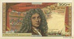 500 Nouveaux Francs MOLIÈRE FRANCE  1961 F.60.03 pr.SPL