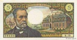 5 Francs PASTEUR FRANCE  1966 F.61.02 SPL