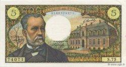5 Francs PASTEUR FRANCE  1968 F.61.07 pr.NEUF