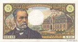 5 Francs PASTEUR FRANCE  1969 F.61.11 SUP