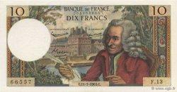 10 Francs VOLTAIRE FRANCE  1963 F.62.03 SPL+