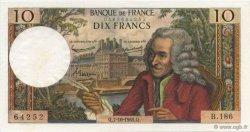 10 Francs VOLTAIRE FRANCE  1965 F.62.16 SPL