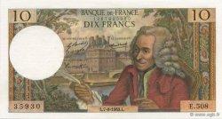 10 Francs VOLTAIRE FRANCE  1969 F.62.39 SPL+