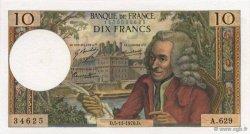 10 Francs VOLTAIRE FRANCE  1970 F.62.47 SUP+