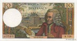10 Francs VOLTAIRE FRANCE  1971 F.62.53 SPL+
