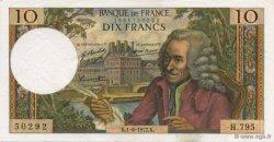 10 Francs VOLTAIRE FRANCE  1972 F.62.57 SUP+