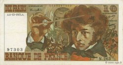 10 Francs BERLIOZ FRANCE  1975 F.63.15 SUP
