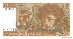 10 Francs BERLIOZ FRANCE  1978 F.63.24b pr.NEUF