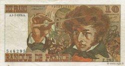10 Francs BERLIOZ FRANCE  1976 F.63U.01 TTB