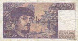 20 Francs DEBUSSY FRANCE  1980 F.66.01 TTB