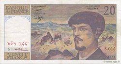 20 Francs DEBUSSY FRANCE  1984 F.66.05 SUP