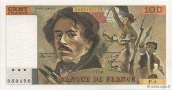 100 Francs DELACROIX modifié FRANCE  1978 F.69.01c SPL+