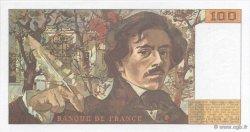 100 Francs DELACROIX imprimé en continu FRANCE  1991 F.69bis.03b1 NEUF