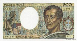 200 Francs MONTESQUIEU FRANCE  1983 F.70.03 NEUF